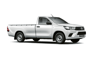 Toyota hilux silver png with shadow